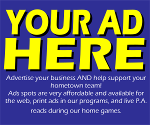 Advertise with your hometown team!